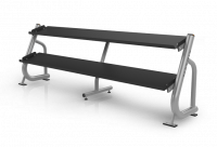 Magnum Series 2-tier Flat-tray Dumbbell Rack MG-A696