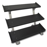 "54"" 3-Tier Dumbbell Rack"